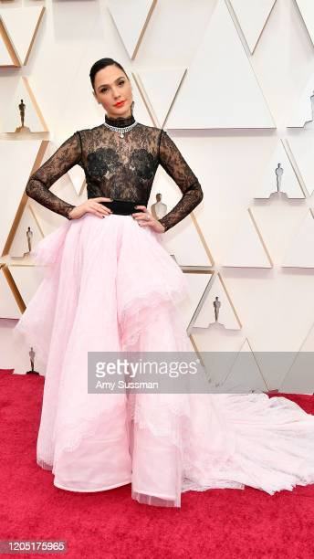 Gal Gadot attends the 92nd Annual Academy Awards at Hollywood and Highland on February 09 2020 in Hollywood California