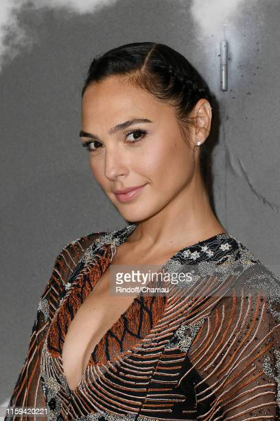 Gal Gadot attends the Christian Dior Haute Couture Fall/Winter 2019 2020 show as part of Paris Fashion Week on July 01, 2019 in Paris, France.