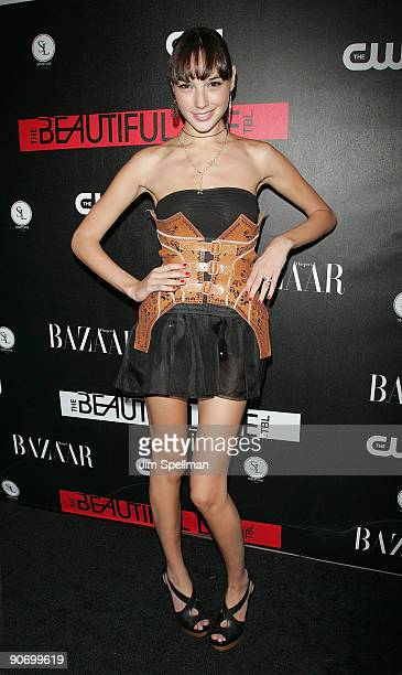 Gal Gadot attends the CW Network celebration of its new series 'The Beautiful Life TBL' at the Simyone Lounge on September 12 2009 in New York City