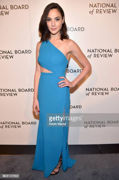 Gal Gadot attends the National Board of Review Annual Awards Gala at Cipriani 42nd Street on January 9 2018 in New York City
