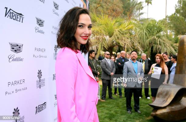 Gal Gadot attends Variety's Creative Impact Awards and 10 Directors to Watch Brunch Red Carpet at the 29th Annual Palm Springs International Film...