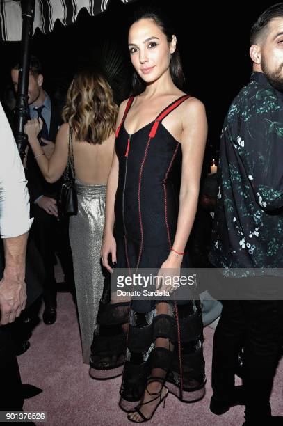 Gal Gadot attends W Magazine's Celebration of its 'Best Performances' Portfolio and the Golden Globes with Audi Dior and Dom Perignon at Chateau...