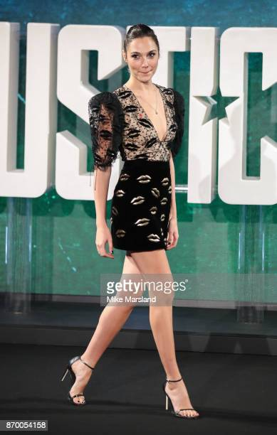 Gal Gadot during the 'Justice League' photocall at The College on November 4 2017 in London England
