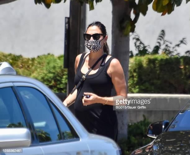 Gal Gadot is seen on June 09, 2021 in Los Angeles, California.