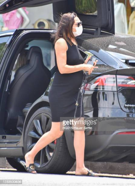 Gal Gadot is seen on June 18, 2021 in Los Angeles, California.
