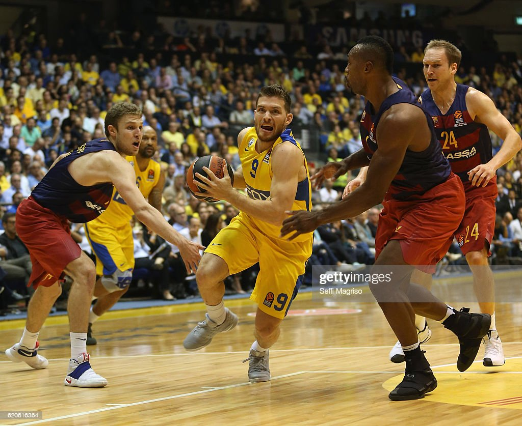 Maccabi Fox Tel Aviv v FC Barcelona Lassa - Turkish Airlines Euroleague