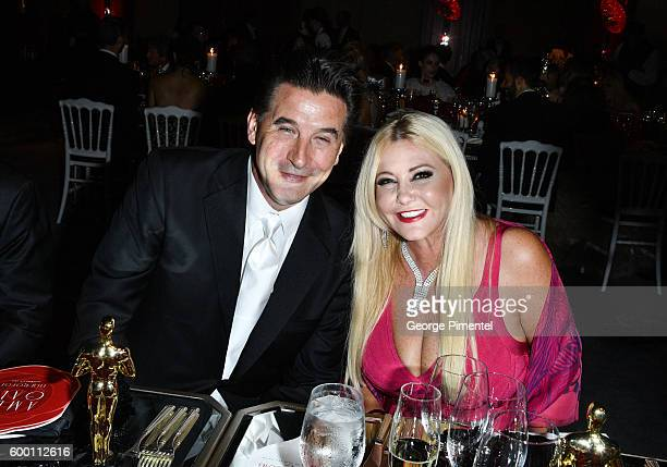 Gala auctioneer and actor William Baldwin and AMBI Pictures cofounder Monika Bacardi attend the 2016 Toronto International Film Festival 'AMBI Gala'...