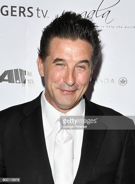 Gala auctioneer and actor William Baldwin attends the 2016 Toronto International Film Festival 'AMBI Gala' at Ritz Carlton on September 7 2016 in...