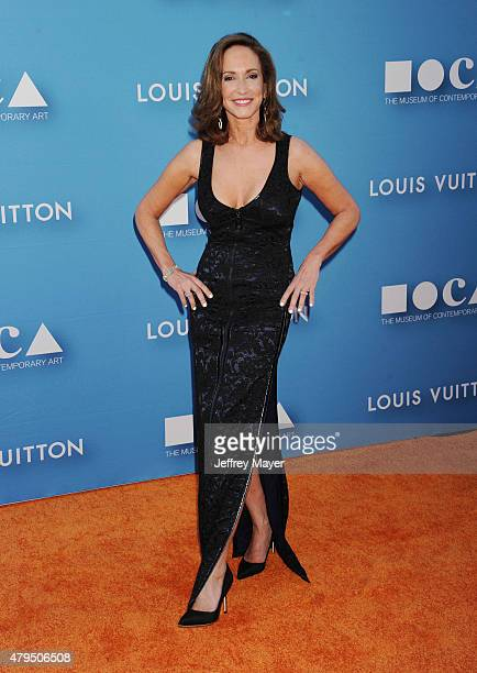 Gala Chair cancer activist Lilly Tartikoff arrives at the 2015 MOCA Gala presented by Louis Vuitton at The Geffen Contemporary at MOCA on May 30 2015...