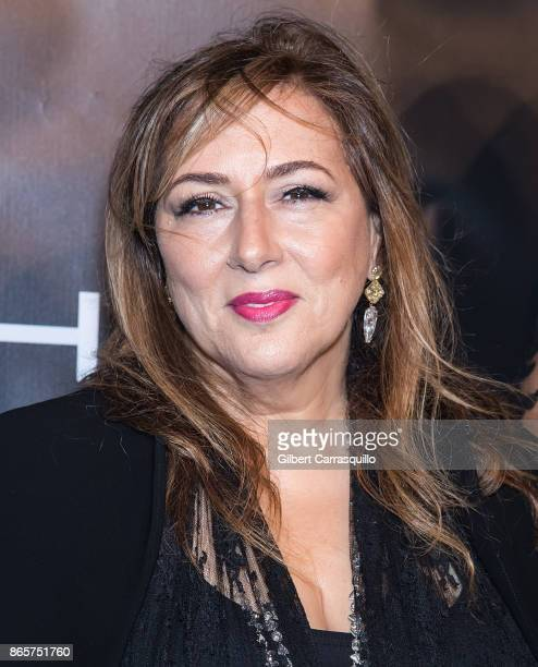 Gala Chair/ jewelry designer Lorraine Schwartz arrives at Gabrielle's Angel Foundation's Angel Ball 2017 at Cipriani Wall Street on October 23 2017...