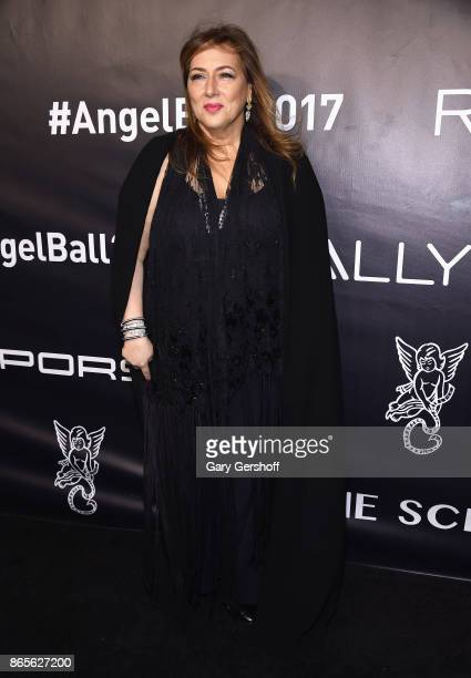 Gala Chair Lorraine Schwartz attends Angel Ball 2017 at Cipriani Wall Street on October 23 2017 in New York City
