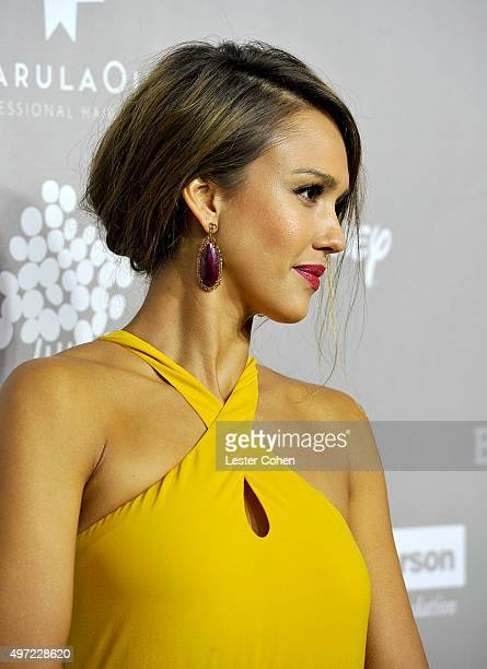 Gala chair member Jessica Alba attends the 2015 Baby2Baby Gala at 3LABS on November 14 2015 in Culver City California
