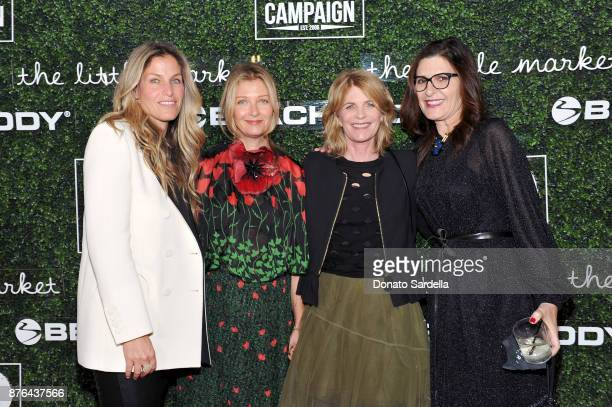 GO Gala Chair Member Nanci Frenkel Cristine Gillespie Allison Kaplan and GO Campaign CoFounder Daryl Offer attend the 2017 GO Campaign Gala at...
