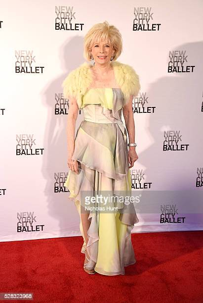 Gala Chairman CBS News and 60 Minutes Lesley Stahl attends New York City Ballet's Spring Gala at David H Koch Theater at Lincoln Center on May 4 2016...