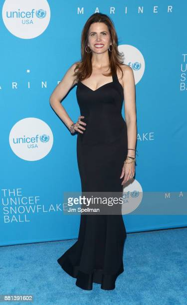 Desiree Gruber attends the 13th Annual UNICEF Snowflake Ball 2017 at The Atrium at 60 Wall Street on November 28 2017 in New York City