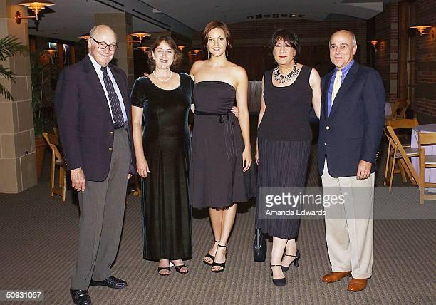 Gala CoChairman Roger Mayer Melissa Talmadge Cox actress Keaton Talmadge Hanna Kennedy and Edward Nowak attend the 15th Anniversary of the Los...