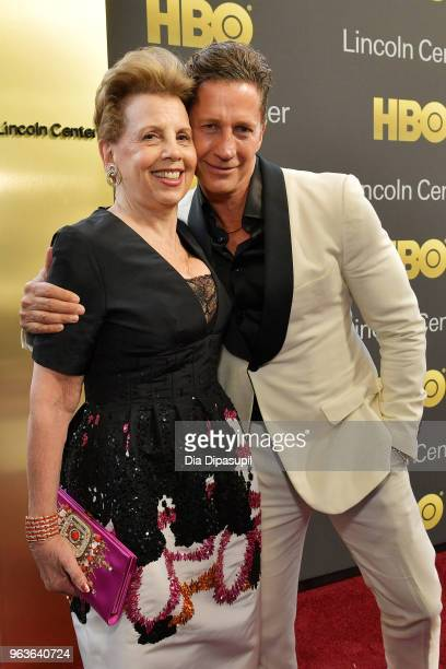 Gala cochairs Adrienne Arsht and Bruce Bozzi attend Lincoln Center's American Songbook Gala at Alice Tully Hall on May 29 2018 in New York City