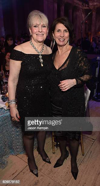 Gala Committee Member Chris Oliver and US Fund for UNICEF Board Member Pamela Fiori attend the 12th annual UNICEF Snowflake Ball at Cipriani Wall...