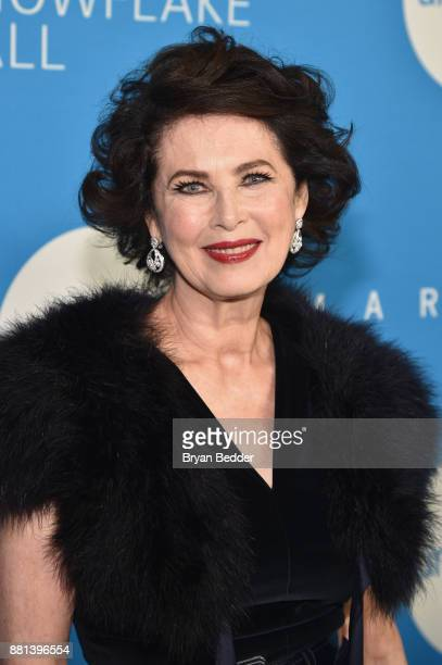 Gala committee member Dayle Haddon attends 13th Annual UNICEF Snowflake Ball 2017 at Cipriani Wall Street on November 28 2017 in New York City
