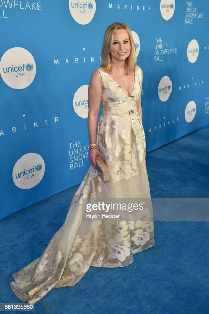 Gala committee member Gillian Miniter attends 13th Annual UNICEF Snowflake Ball 2017 at Cipriani Wall Street on November 28 2017 in New York City