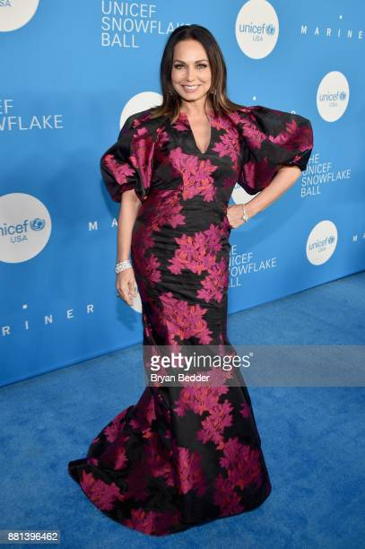 Gala committee member Moll Anderson attends 13th Annual UNICEF Snowflake Ball 2017 at Cipriani Wall Street on November 28 2017 in New York City