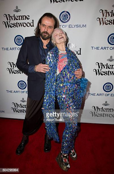 Gala Creative Visionary Vivienne Westwood attends The Art of Elysium 2016 HEAVEN Gala presented by Vivienne Westwood Andreas Kronthaler at 3LABS on...