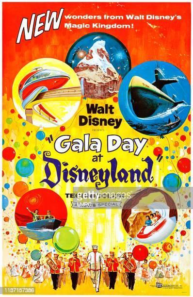 Gala Day At Disneyland poster US poster art 1960