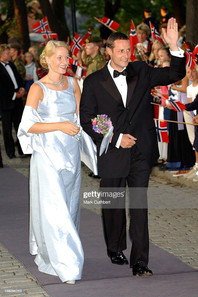 Royal Gala Dinner At Akershus Castle : News Photo