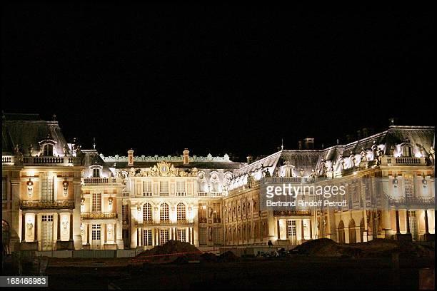 Gala dinner organized by Pasteur Weizmann at Versailles to honour Maria Callas