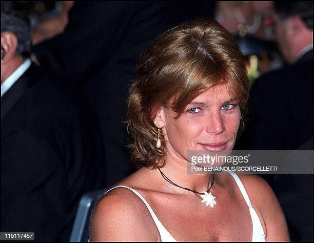 Gala for the Society of Protection for Animals in Monaco City, Monaco on July 07, 2000 - Stephanie.