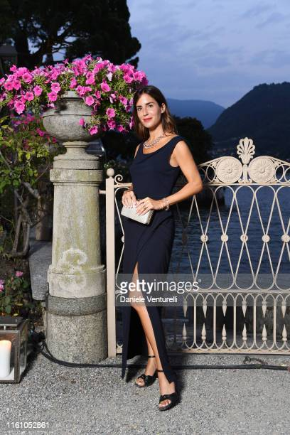 Gala Gonzalez attends Bvlgari Splendida Tubereuse Mystique Event on July 09 2019 in Cernobbio Como Lake Italy