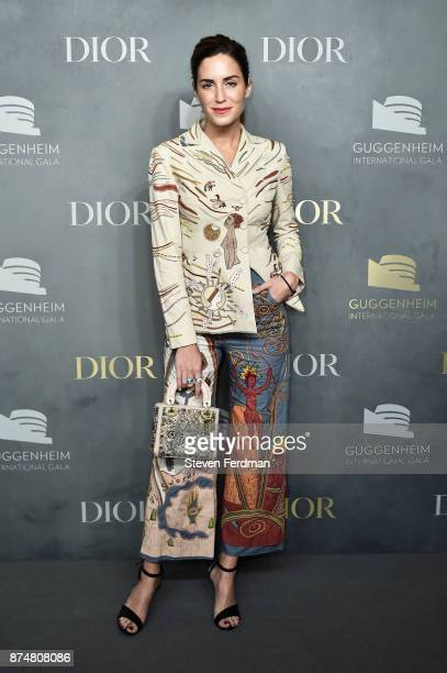 Gala Gonzalez attends the 2017 Guggenheim International Gala PreParty made possible by Dior on November 15 2017 in New York City
