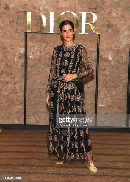 Gala Gonzalez attends the Christian Dior Couture S/S20 Cruise Collection on April 29 2019 in Marrakech Morocco