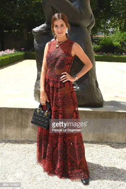 Gala Gonzalez attends the Christian Dior Haute Couture Fall Winter 2018/2019 show as part of Paris Fashion Week on July 2 2018 in Paris France