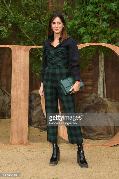 Gala Gonzalez attends the Christian Dior Womenswear Spring/Summer 2020 show as part of Paris Fashion Week on September 24 2019 in Paris France
