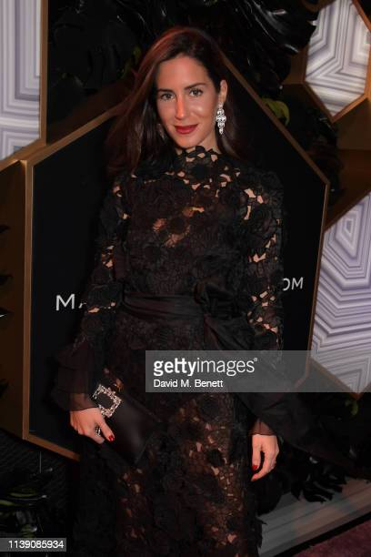 Gala Gonzalez attends the Fashion Trust Arabia Prize awards ceremony on March 28 2019 in Doha Qatar