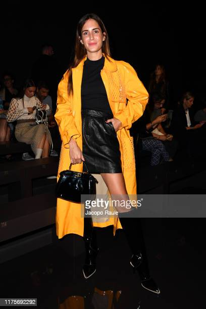 Gala Gonzalez attends the Fendi fashion show during the Milan Fashion Week Spring/Summer 2020 on September 19 2019 in Milan Italy