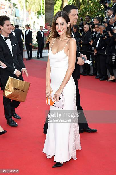 Gala Gonzalez attends The Homesman Premiere at the 67th Annual Cannes Film Festival on May 18 2014 in Cannes France