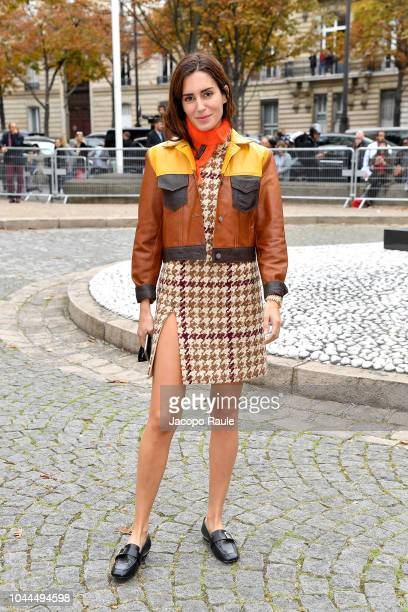 Gala Gonzalez attends the Miu Miu show as part of the Paris Fashion Week Womenswear Spring/Summer 2019 on October 2 2018 in Paris France