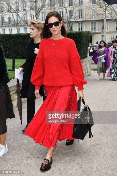 Gala Gonzalez attends the Valentino show as part of the Paris Fashion Week Womenswear Fall/Winter 2019/2020 on March 03 2019 in Paris France