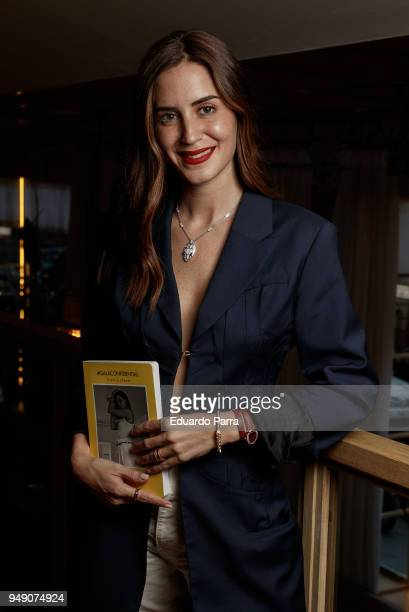 Gala Gonzalez presents her new book '#GalaConfidential' at Hotel NH Collection Madrid Suecia on April 19 2018 in Madrid Spain