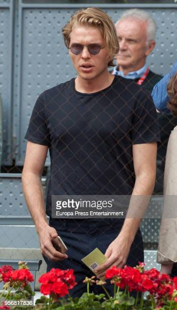 Gala Gonzalez's boyfriend during day four of the Mutua Madrid Open tennis tournament at the Caja Magica on May 9 2018 in Madrid Spain