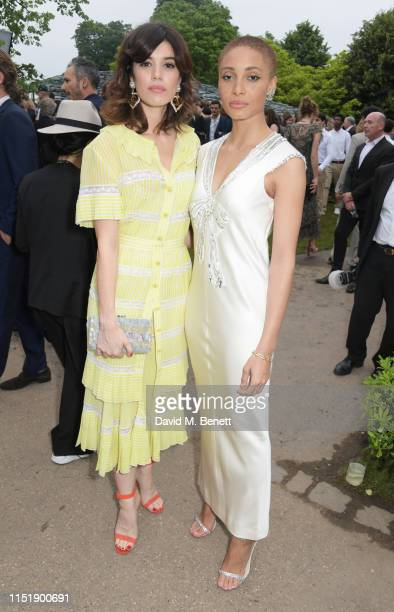 Gala Gordon and Adwoa Aboah attend The Summer Party 2019 presented by Serpentine Galleries Chanel and hosted by Michael R Bloomberg Hans Ulrich...