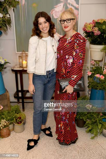 Gala Gordon and Isabella MacPherson attend the Grand Opening of the Belmond Cadogan Hotel Summer Salon Series presented by London Perfumer Miller...