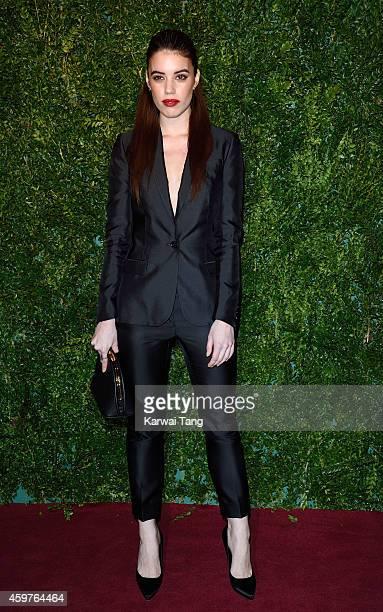 Gala Gordon attends the 60th London Evening Standard Theatre Awards at London Palladium on November 30 2014 in London England