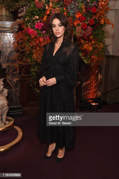 Gala Gordon attends the 65th Evening Standard Theatre Awards in association with Michael Kors at the London Coliseum on November 24 2019 in London...