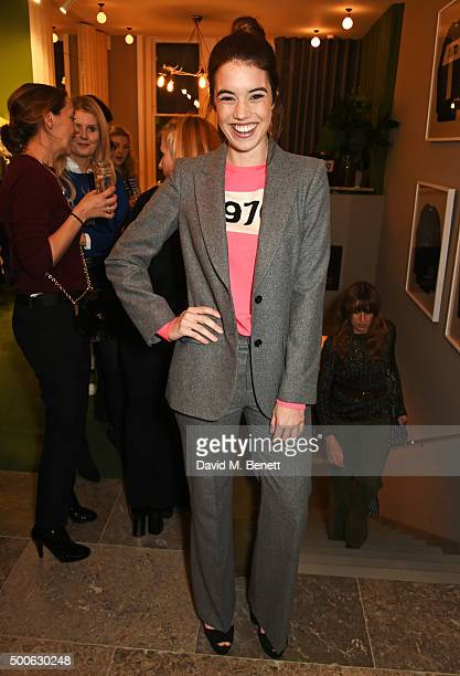 Gala Gordon attends the Bella Freud store launch in Marylebone on December 9 2015 in London England