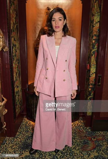 Gala Gordon attends the 'Country Town House Great British Brands' party at Annabel's on January 27 2020 in London England