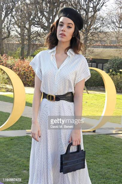 Gala Gordon attends the Dior Haute Couture Spring/Summer 2020 show as part of Paris Fashion Week at Musee Rodin on January 20 2020 in Paris France