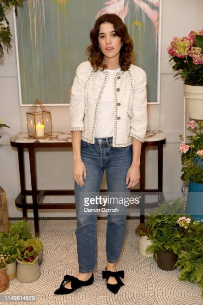 Gala Gordon attends the Grand Opening of the Belmond Cadogan Hotel Summer Salon Series presented by London Perfumer Miller Harris on May 16 2019 in...